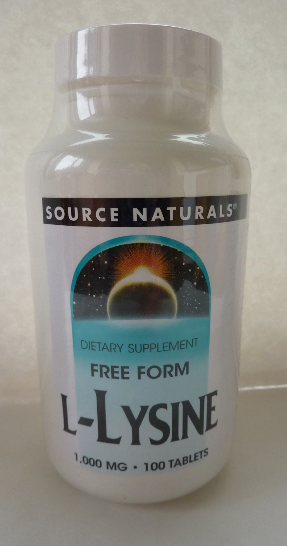 Should l arginine be taken with l lysine