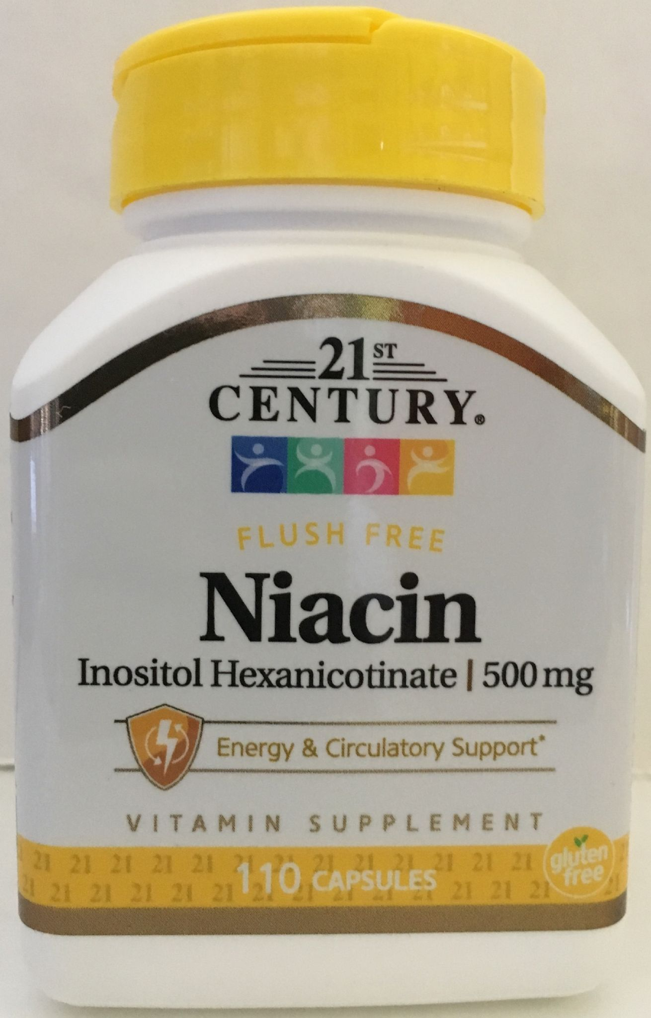 Niacin Inositol Hexanicotinate (Vitamin B3) 500 mgs 110 caps